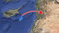 Son dakika: 59 füzenin ateşlendiği gemiler Kıbrıs açıklarında!
