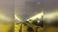 Havada panik! Yolcu uçağı zorunlu iniş yaptı