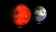 Dünya'ya benzeyen gezegenin çevresinde atmosfer bulundu