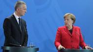Stoltenberg ve Merkel'den açıklama: Biz yokuz