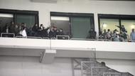 Bursaspor Beşiktaş maçında ortalık savaş alanına döndü