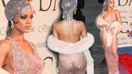 Rihanna'nın en çarpıcı kırmızı halı kıyafetleri