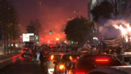 Beşiktaş Çarşı'da şampiyonluk coşkusu