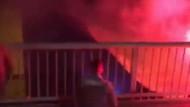 Fenerbahçe bayrağını yakanlara gözaltı