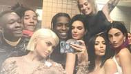Kendall Jenner ile Asap Rocky'nin samimi görüntüsü