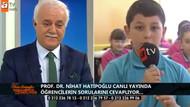 Nihat Hatipoğlu'nu canlı yayında güldüren küfür sorusu