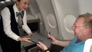 THY, ABD'ye uçan Business Class yolcularına laptop dağıttı