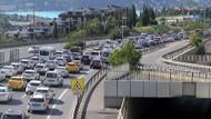 15 Temmuz Şehitler Köprüsü'nde trafik çilesi