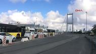 İstanbullunun köprü çilesi: Trafik durma noktasında