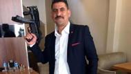 AK Parti gençlik kolları üyesinden makineli tabanca paylaşımı