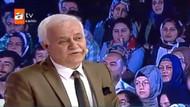 İzleyicinin Nihat Hatipoğlu'na sorduğu soru şaşkınlık yarattı!