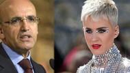 Mehmet Şimşek'ten şaşırtan Katy Perry'li tweet!