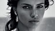 Adriana Lima, İspanyol Harper's Bazaar dergisi için poz verdi