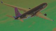 THY uçağı Bükreş'te seyyar lambalara çarptı!