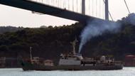 Rus istihbarat toplama gemisi İstanbul Boğazı'ndan geçti