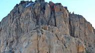 Oramar'da nöbet değişimi: 157 basamak merdiven...