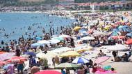 Marmara Ereğlisi'ndeki sahiller tatilcilerle doldu