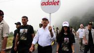 Kılıçdaroğlu: Adalet için yürüyoruz, kimse rahatsız olmasın