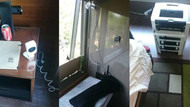 Otel odasına düzenek kurdu, uzaktan kumandayla Taksim'e bildiri dağıttı