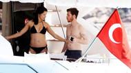 Adriana Lima ve sevgilisi Metin Hara, tekne turuna çıktı