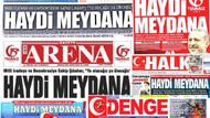 Samsun'da yerel gazetelerden ortak 15 Temmuz manşeti
