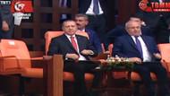 Cumhurbaşkanı Erdoğan TBMM'deki özel oturumu böyle izledi