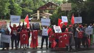 Teröristbaşı Fetullah Gülen'in çiftliğinde idam sloganları!