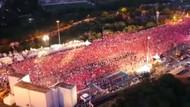 15 Temmuz Şehitler Köprüsü'nde tarihi kalabalık