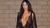 Kim Kardashian hiç giyinmese de olurdu!