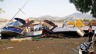 Bodrum depreminin ardından 15 metrelik tsunami, 250 artçı sarsıntı