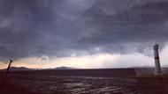 Marmara ve Avşa adasındaki tatilcilere fırtına şoku