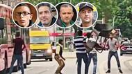 Hamburg'da teröristi sandalye atarak durduran Türk olay oldu