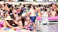 Bodrum'da sahiller doldu