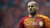 Sneijder'den açıklama! Belirsizliğe son noktayı koydu...