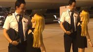 Ece Seçkin'in pilot sevgilisiyle boy farkı olay oldu