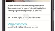 Google soracak: Depresyonda mısınız?