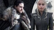 Daenerys Targaryen ile Jon Snow'un öpüşme pozu olay oldu!