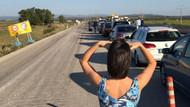 Yunanistan'a giden Türkler sınırda kuyruk oluşturdu