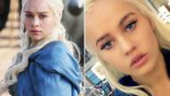 Khaleesi'yi canlandıran dublör Emilia Clarke'den daha güzel