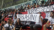 Nuriye ve Semih pankartı Konyaspor taraftarını tahrik etmiş