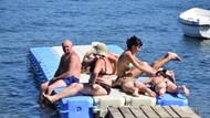Marmaris'te tatilcilerin bu görüntüleri yok artık dedirtti