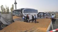 Yolcu otobüsü TIR'la çarpıştı: 3 ölü, çok sayıda yaralı
