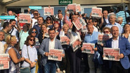 AKP'li sürpriz isim Cumhuriyet davasını izledi