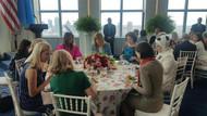 First Lady'ler yemekte buluştu