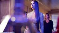 Kim Kardashian'ı görenler çıplak sanıyor
