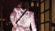 Bella Hadid Türk tasarımcının ceketini tercih etti