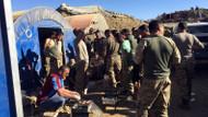 Karadenizli tır şoförü Mehmetçiğe Kato'da köfte ziyafeti verdi