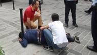 Taksim Gezi Parkında tinerci dehşeti!