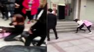 Aldatılan kadın kocasının sevgilisini fena dövdü
