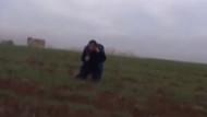 Muhabirin bomba paniği
